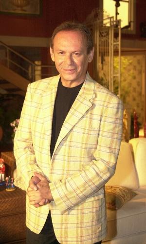 2004 - Zé Wilker como um de seus personagens mais populares, Giovanni Improtta, dono do bordão