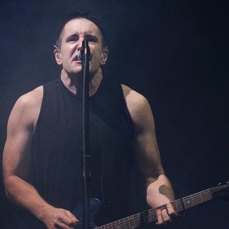 Trent Reznor, vocalista do Nine Inch Nails - Reinaldo Canato/UOL