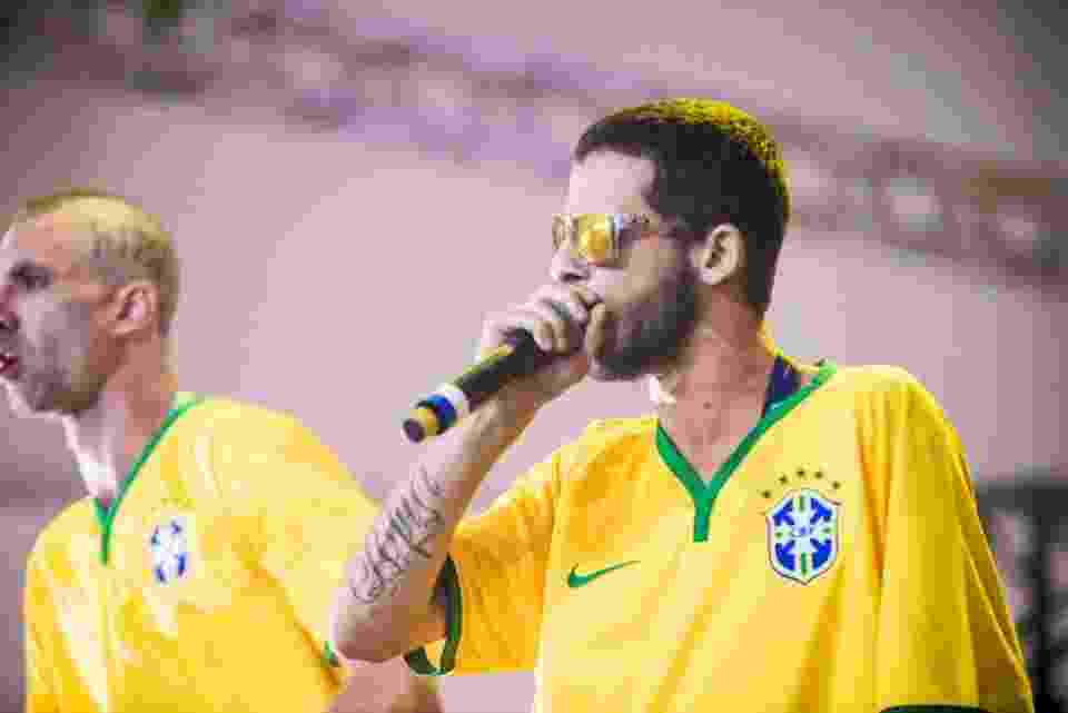 06.abr.2014 - MC Maomé do ConeCrew Diretoria durante show no Lollapalooza 2014, no Autódromo de Interlagos de São Paulo - Flavio M. Oota / I Hate Flash/Divulgação