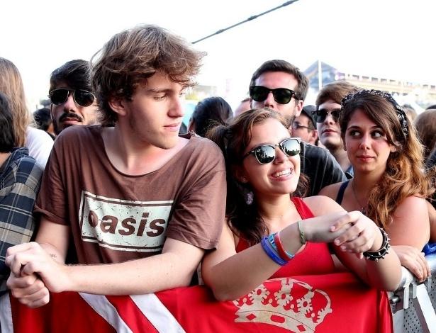 06.abr.2014 - Público curte o segundo dia do Festival Lollapalooza 2014 no Autódromo de Interlagos, em São Paulo