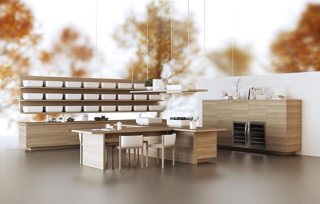 A italiana Scavolini (www.scavolini.com) apresenta sua cozinha KI, desenvolvida em parceria com o japonês Oki Sato, do escritório Nendo. Com design conciso e minimalista, KI pode ser montada de forma linear ou em ilha. Essa é uma das novidades da EuroCucina, evento que faz parte do Salão Internacional do Móvel de Milão, que acontece entre os dias 08 e 13 de abril de 2014