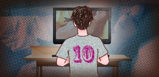 Internet facilitou muito o acesso a conteúdos pornográficos por crianças e adolescentes - Didi Cunha/UOL