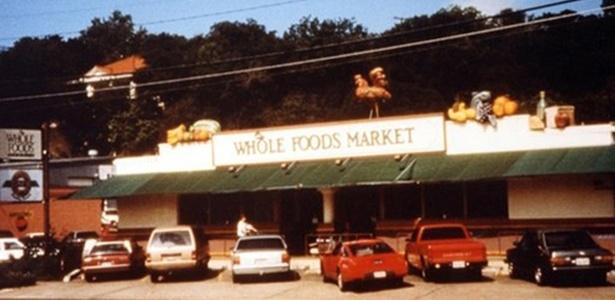 A primeira loja do Whole Foods foi fundada em 1980, em Austin, no Texas, e tinha 19 funcionários - Whole Foods