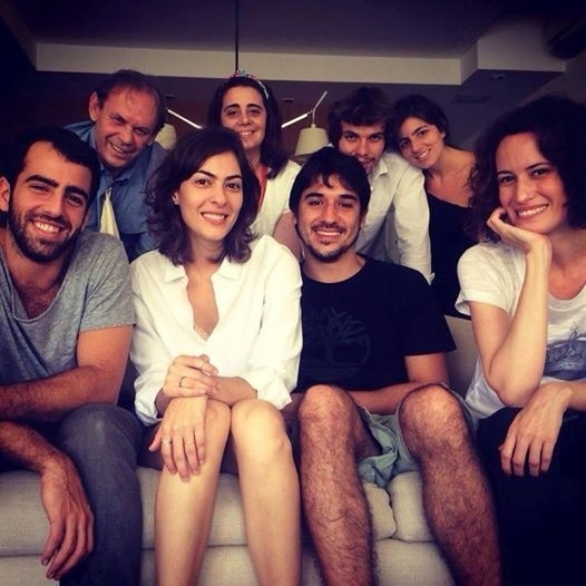 Claudia Montenegro se despede do namorado, o ator José Wilker