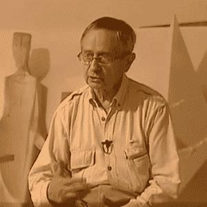 Escultor, pintor, gravurista e cenógrafo espanhol Josep Maria Subirachs, responsável pela fachada da Paixão da basílica da Sagrada Família de Barcelona, morreu aos 87 anos  - Reprodução/YouTube