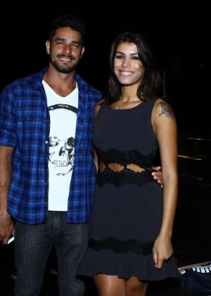 O casal de ex-BBBs Diego e Franciele
