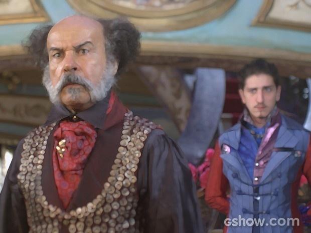 Coronel Epa fica abismado com a ousadia do filho