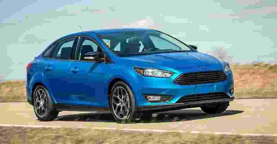 Ford Focus Sedan reestilizado - Divulgação