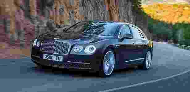 Bentley Flying Spur 2014 chega ao Brasil custando a partir de R$ 1.450.000 - Divulgação - Divulgação
