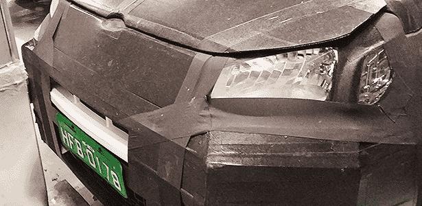 Fiat Uno 2015 flagra - Ronaldo Takeshi Suzuki/UOL - Ronaldo Takeshi Suzuki/UOL