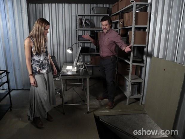 LC mostra sala secreta para Lili