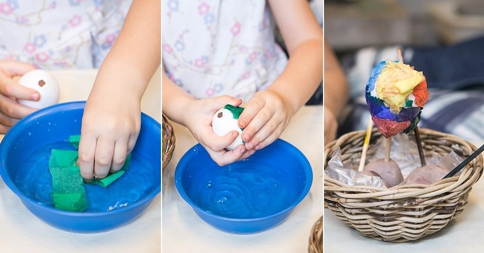Fotos Aprenda a pintar e a rechear ovos de galinha para a Páscoa 15 04 2014 UOL Universa -> Como Enfeitar Ovo De Galinha Para Pascoa