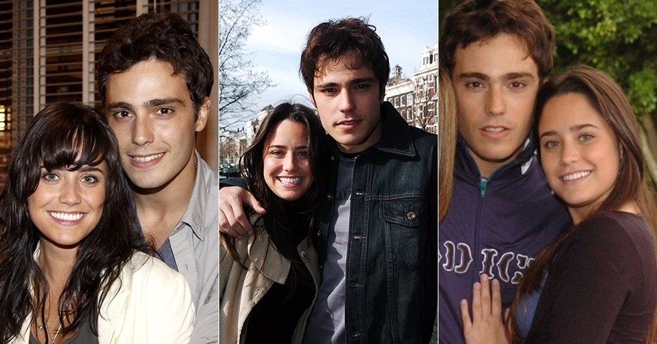 """Fernanda Vasconcellos e Thiago Rodrigues começaram como par romântico em """"Malhação"""" e repetiram a dose em """"Páginas da Vida"""" (2006) e """"Tempos Modernos"""" (2010)"""