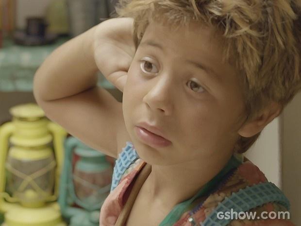 Serelepe descobre que pode ir parar em um orfanato