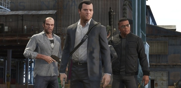 """""""GTA V"""" é apenas uma das apostas multimilionárias da Rockstar Games - Divulgação"""