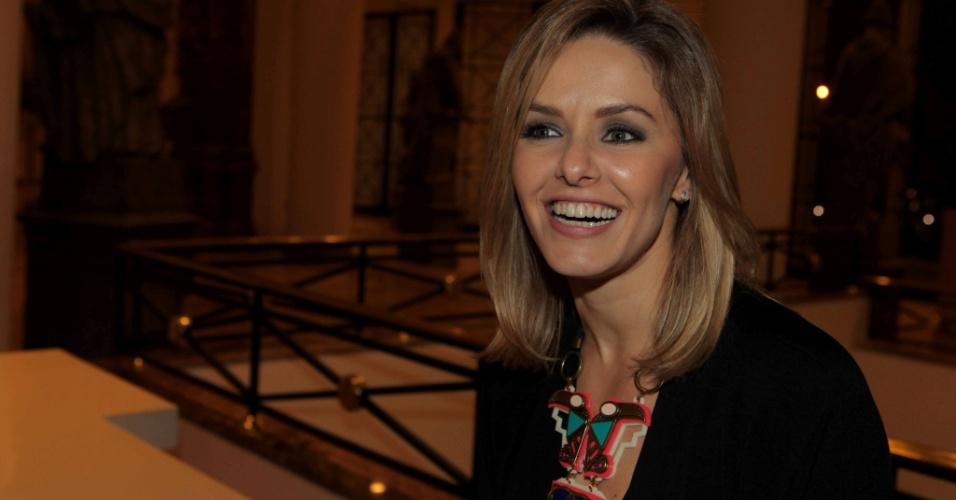 17.Set. 2011 -A atriz Bianca Rinaldi na estreia da peça