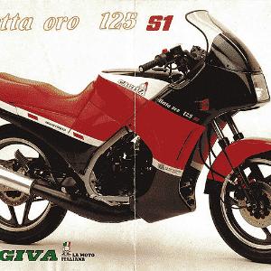 Cagiva Aletta Oro 125 - Divulgação