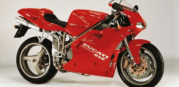 Ducati 916 - Divulgação - Divulgação