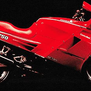 Ducati Paso 750 - Divulgação