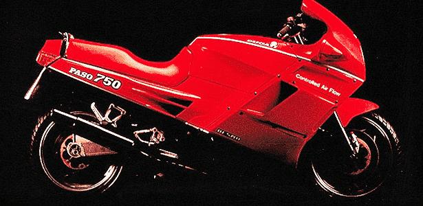 Ducati Paso 750 - Divulgação - Divulgação
