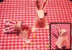 Faça coelho 3D com surpresa