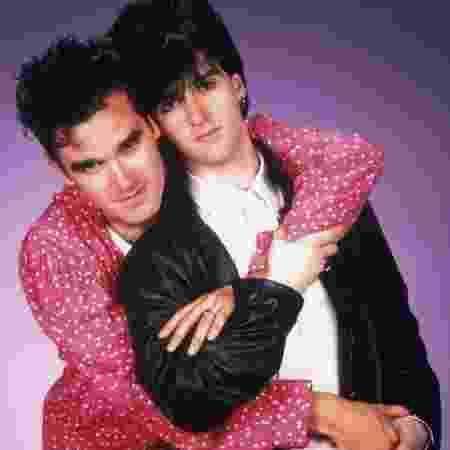 Morrissey e Johnny Marr, separados desde 1987, não vão participar da reunião - Divulgação - Divulgação