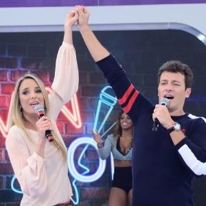 Rodrigo Faro, Ticiane Pinheiro (foto) e Marcos Mion substituem Xuxa nesta segunda