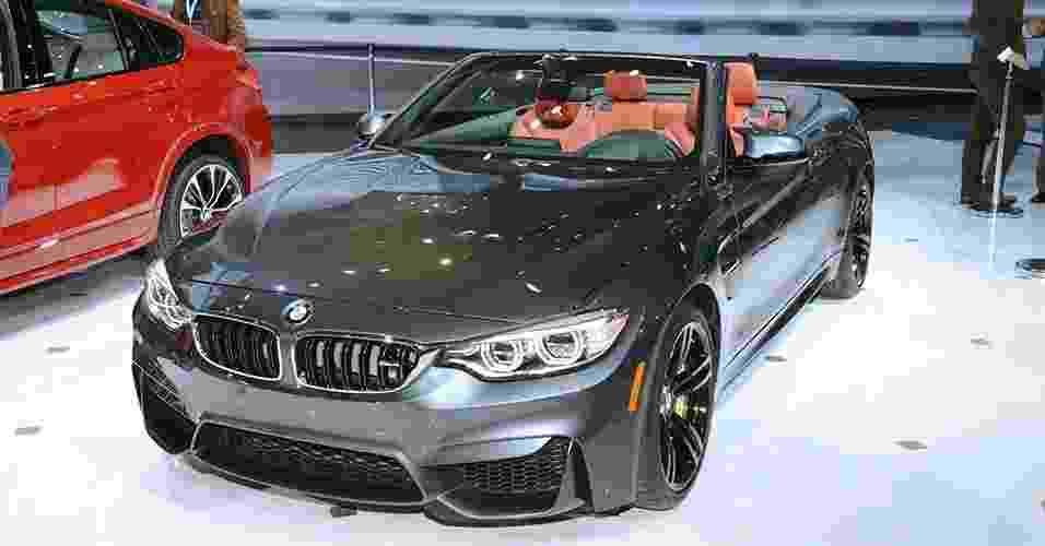 BMW M4 Convertible - Newspress