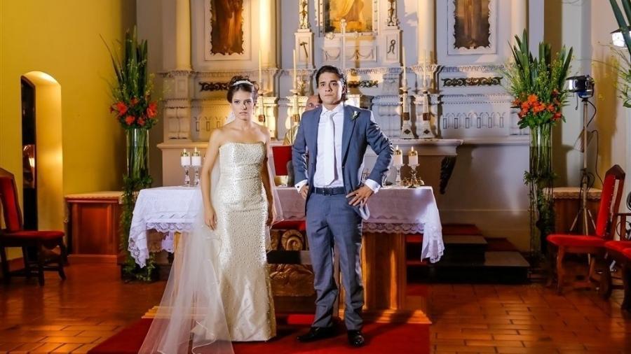 """Em """"Chiquititas"""", casamento de Júnior e Maria Cecília é cancelado  - Artur Igrecias/SBT"""