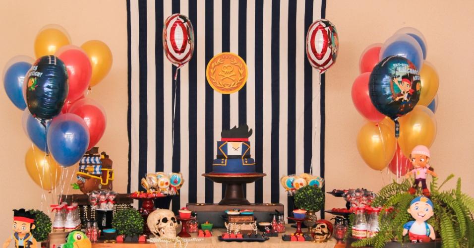 O tema dessa festa, montada pela empresa Maria Formiga (www.mariaformiga.com.br), foi o desenho