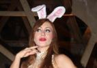 Ex-BBB Aline faz ensaio vestida de coelhinha da Páscoa - AgNews