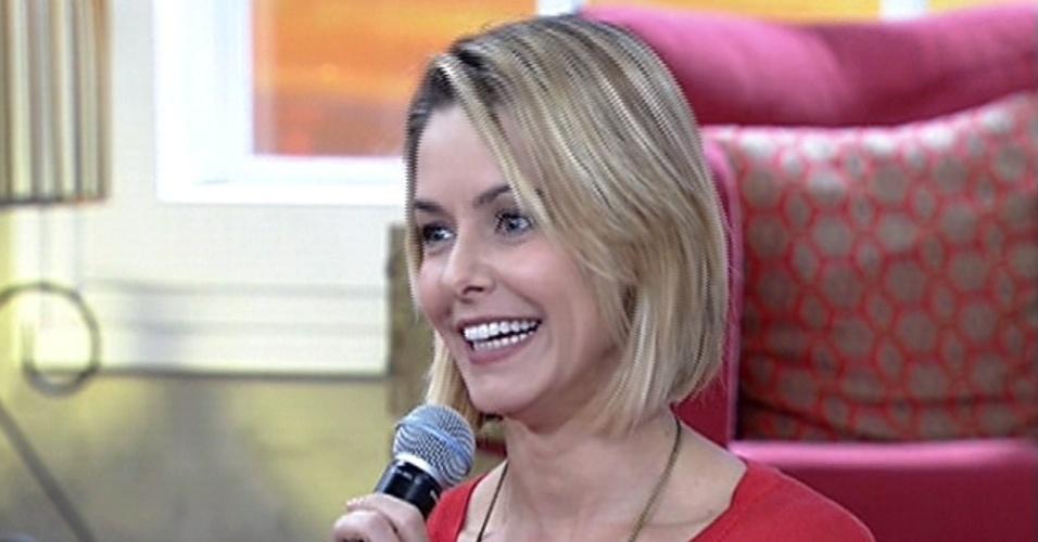 18.abr.2014 - Bianca Rinaldi comparece ao