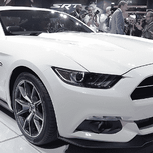 Ford Mustang 50 Year Limited Edition - Eric Thayer/Getty Images/AFP