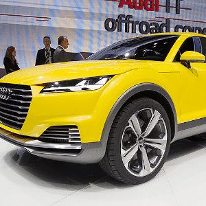 Audi TT Offroad Concept - Zhu Wei/Xinhua