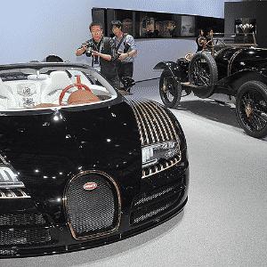 Bugatti Veyron Grand Sport Vitesse Black Bess - AFP