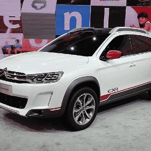 Citroën C-XR no Salão de Pequim - Claudio Luís de Souza/UOL