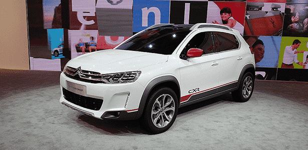 Citroën C-XR no Salão de Pequim - Claudio Luís de Souza/UOL - Claudio Luís de Souza/UOL