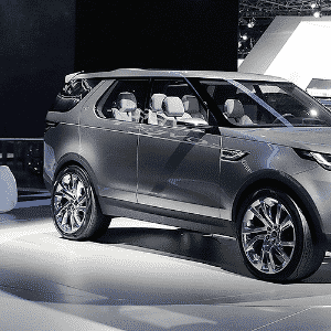 Land Rover Discovery Vision Concept - Eric Thayer/Getty Images/AFP
