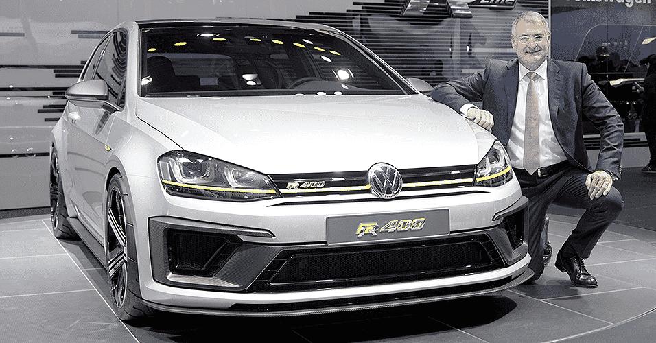 Volkswagen Golf R400 - Friso Gentsch/EFE/EPA