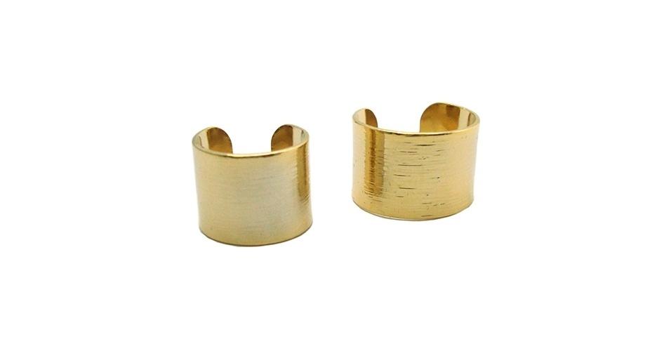 Anel de metal; R$ 54 da Fiszpan (www.fiszpan)