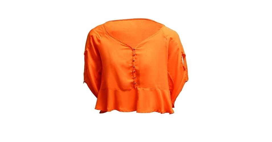 Blusa de viscose; R$ 178,90 da Dona Florinda (www.donaflorinda.com.br)