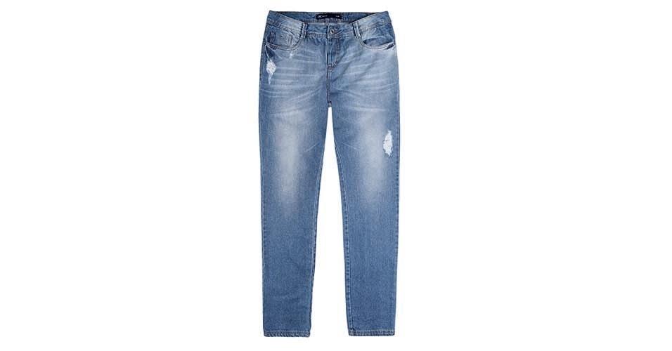 De jeans; R$ 119,99 da Hering (www.hering.com.br)