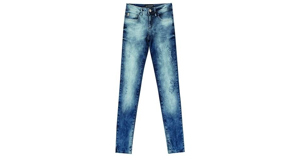 De jeans; R$ 283,80 da Authoria (www.authoria.com.br)