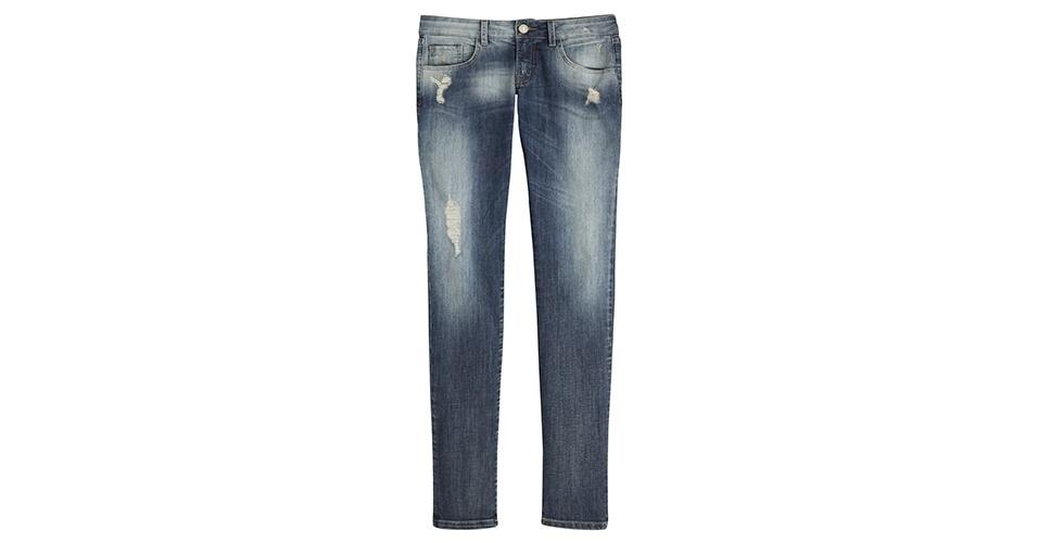 De jeans; R$ 299,90 da TVZ (www.tvz.com.br)