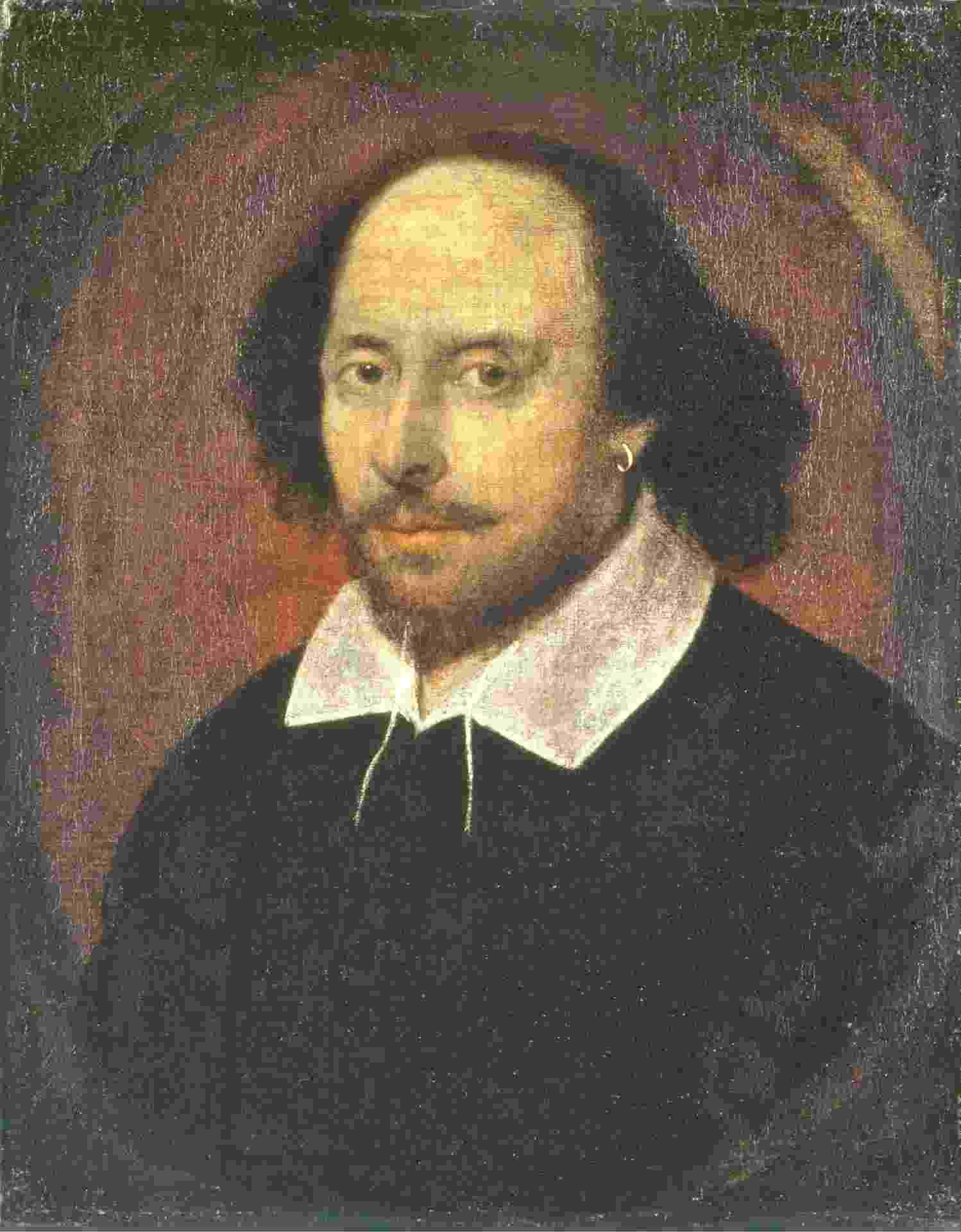 Imagem William Shakespeare - Reprodução