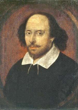 O dramaturgo Willian Shakespeare (1564-1616) - Reprodução