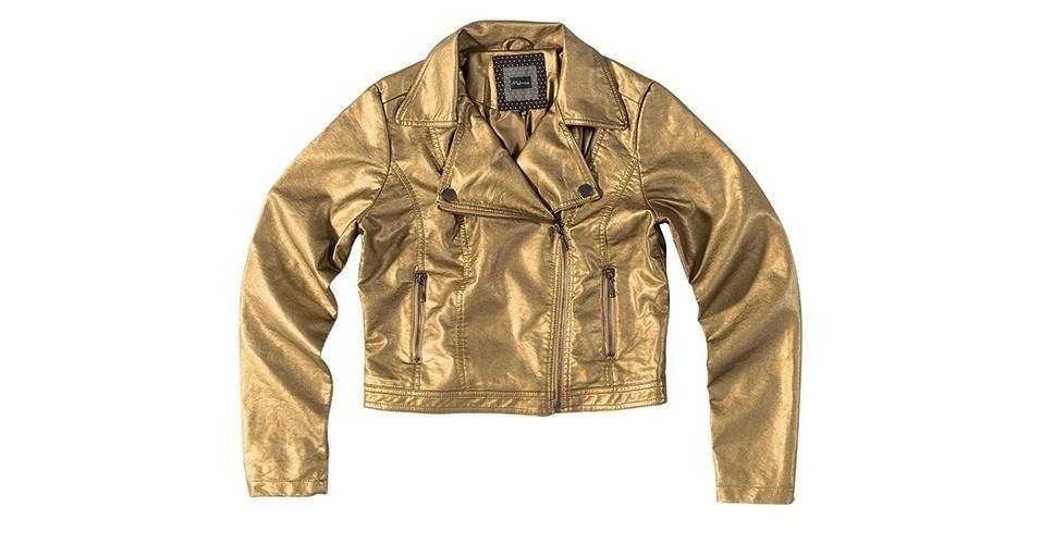 Jaqueta de material sintético; R$ 239,99 da Malwee (www.malwee.com.br)