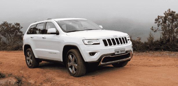 Jeep Grand Cherokee é responsável por 4.834 das unidades convocadas - Murilo Góes/UOL