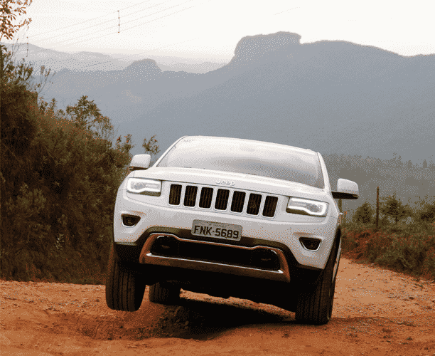 Jeep Grand Cherokee Limited Diesel - Murilo Góes/UOL