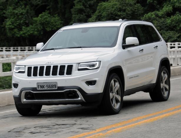 Unidades do Jeep Grand Cherokee são movidas a diesel ou gasolina  - Murilo Góes/UOL